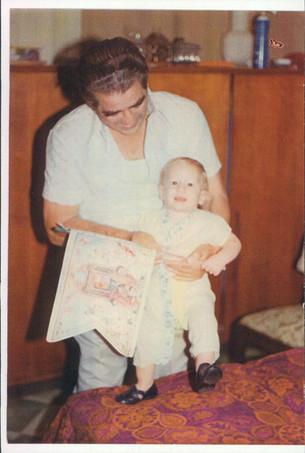 Saba Zalman and Me (David)