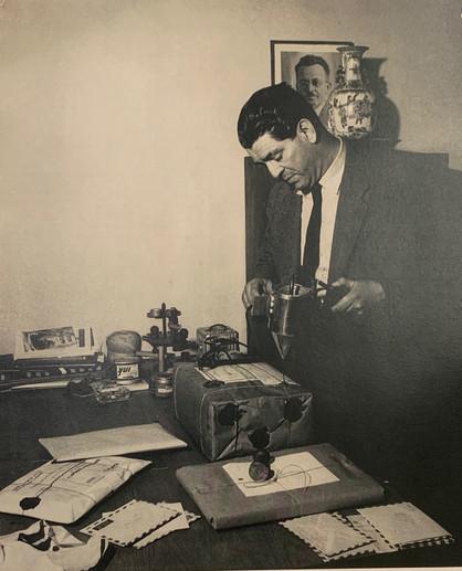 Zalman Using a Special Sealing Wax