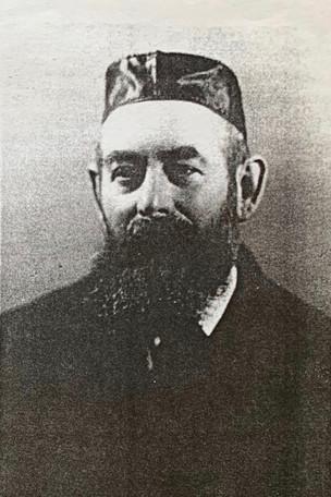 1910s Rav Shulem Unreich Ben David Issac