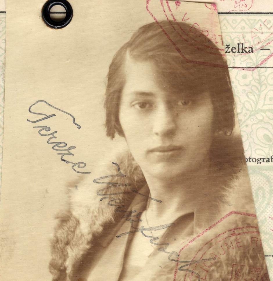Passport: Tereza Unreich Weissfisch