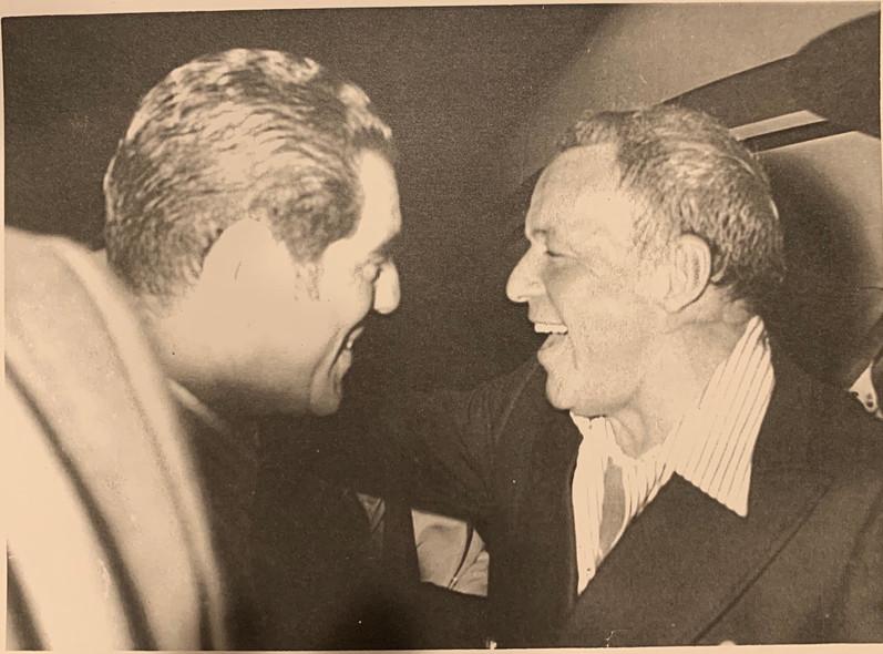 Zalman's Friendship with Frank Sinatra