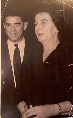 Golda Meir Inner Circle with Zalman