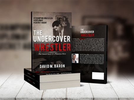 Introducing my new book THE UNDERCOVER WRESTLER