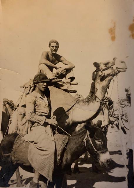 Zalman on Camel in 1930s
