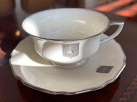 Vintage Teacup & Saucer from Legation D'Israel Office in Prague.
