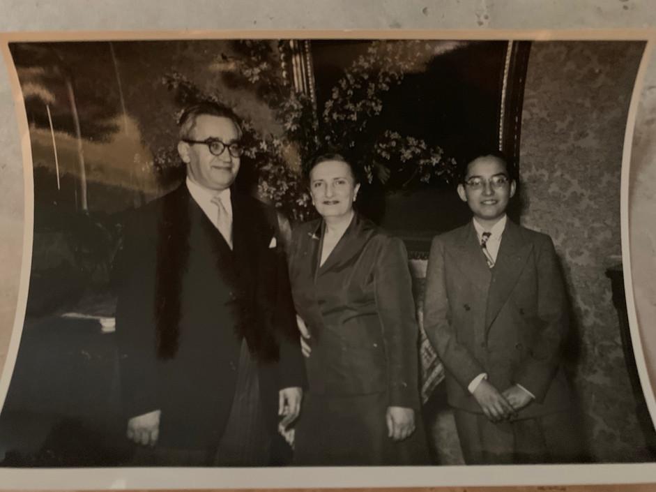 Kubovy Family in Prague