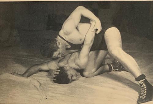 Zalman in Wrestling Book