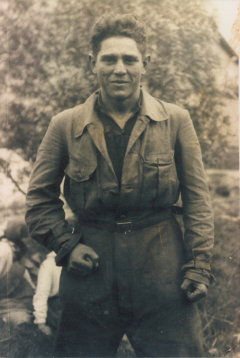 Zalman in Paratrooper Uniform