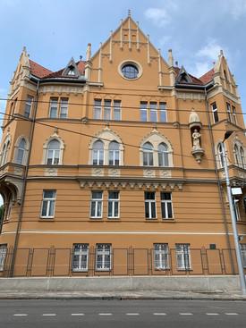 Where the Weissfisch family lived at Godrova 2, Bratislava, Slovakia.