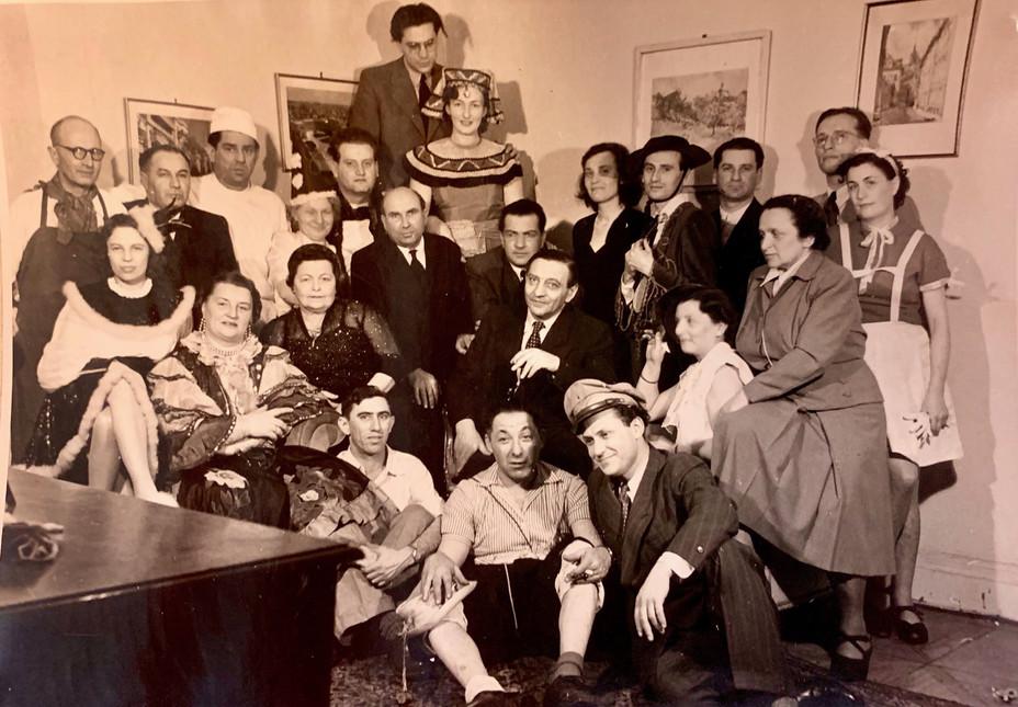 Diplomatic Staff Celebrating Purim