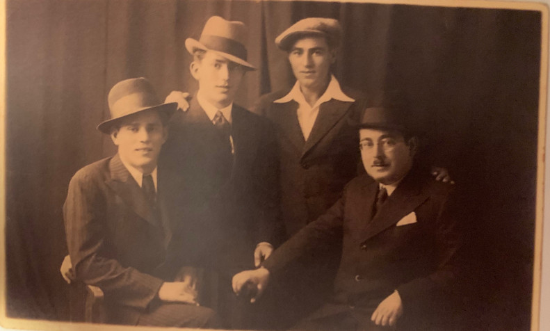 The Unreich Boys Circa 1920s