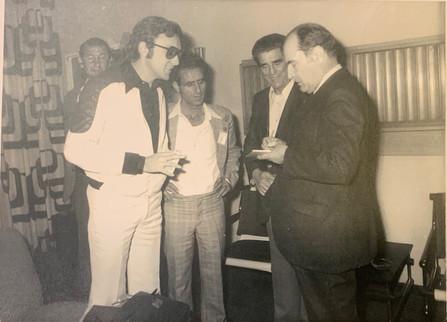 Zalman with François Mitterrand