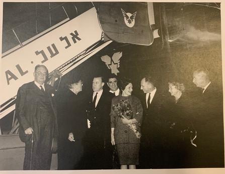 Zalman with United States Ambassador to Israel