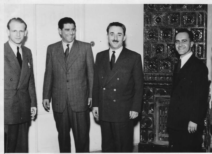 Another Bratislava Connection - Rafi Friedl (Benshalom), Sharett and Zalman