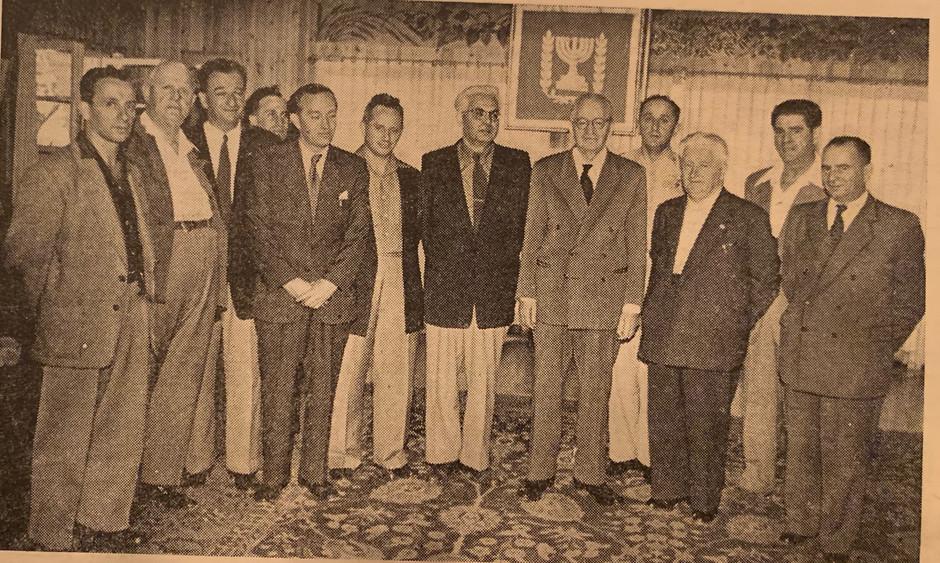 Zalman at Israel Government Officials Event