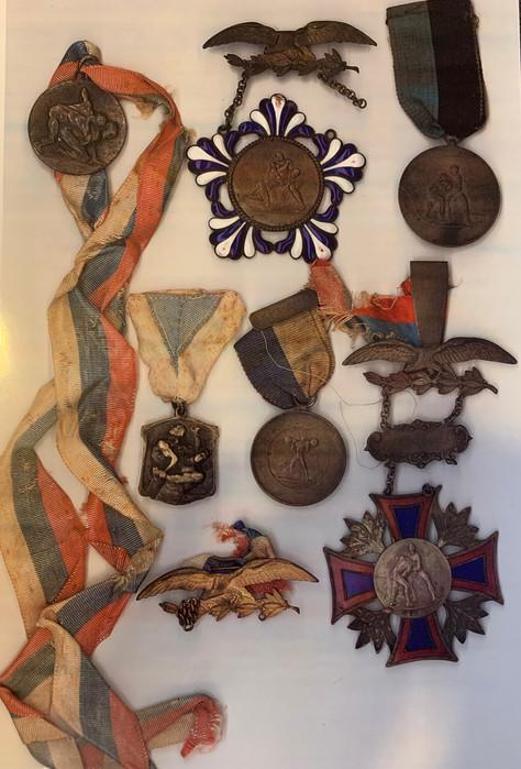 Zalman's Medals