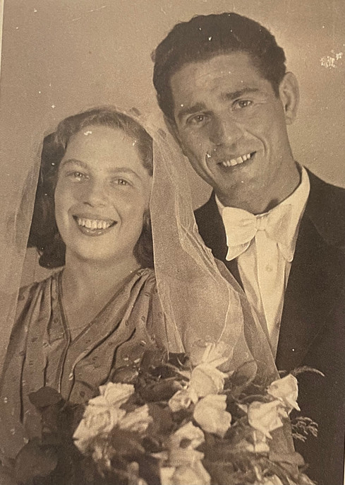 Zalman and Gerty Wedding