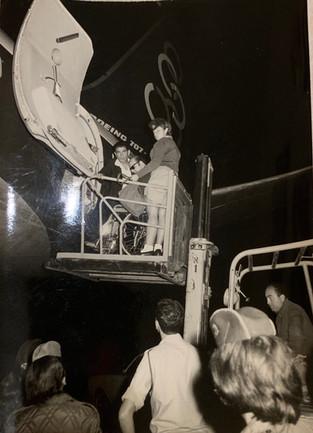 Zalman Assisting During 1968 Summer Paralympics