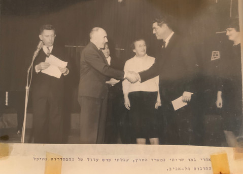 Zalman Recieved Honors for Years of Service