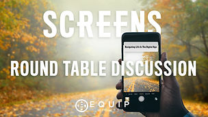 Equip Night SCREENS TABLE DISCUSSION YOU