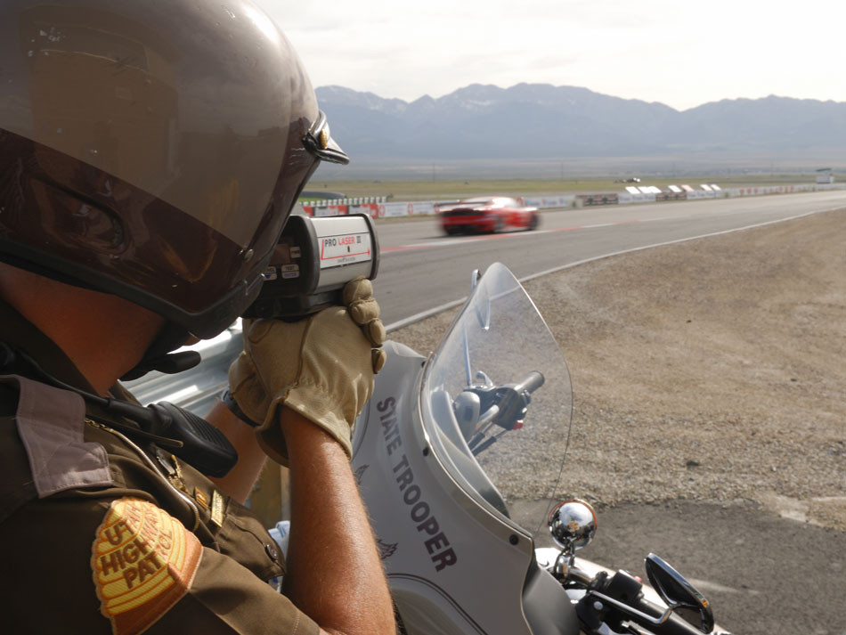 State Trooper Radar motorcycle