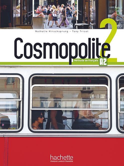COSMOPOLITE-2/LIVRE DE L'ELEVE+DVD ROM+PARCOURS DIGITAL
