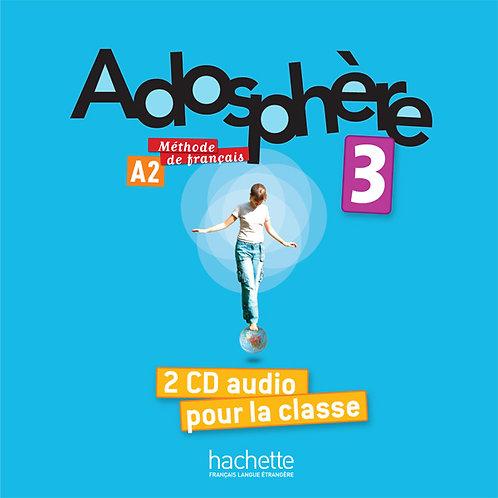 ADOSPHERE-3/CD AUDIO CLASSE (X2)