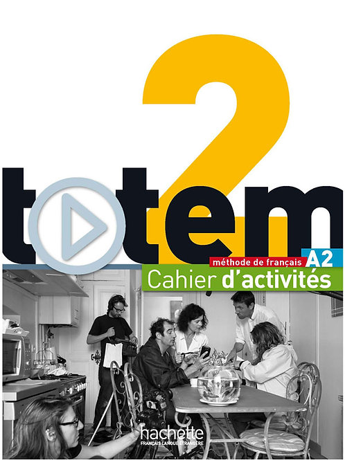 TOTEM-2/CAHIER D'ACTIVITES+CD AUDIO