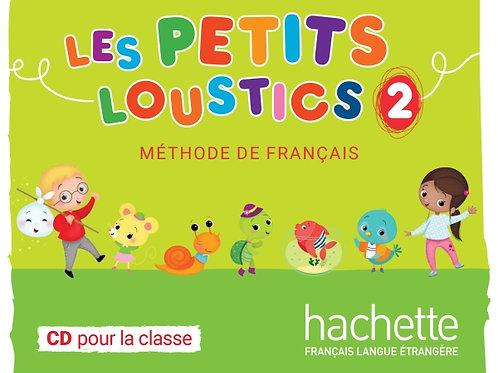 LES PETITS LOUSTICS-2/CD CLASSE (1 CD MP3)