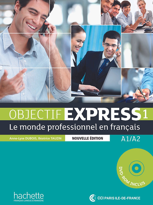 OBJECTIF EXPRESS-1 NE/LIVRE DE L'ELEVE+DVD-ROM