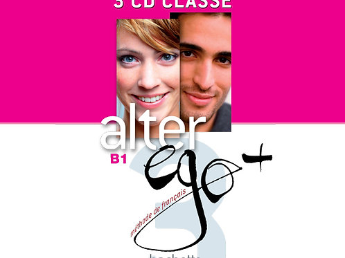 ALTER EGO+-3/CD AUDIO CLASSE