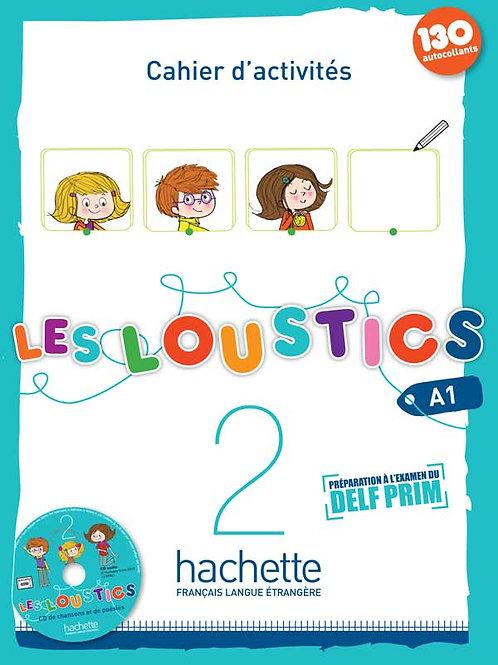 LES LOUSTICS-2/CAHIER D'ACTIVITES + CD AUDIO