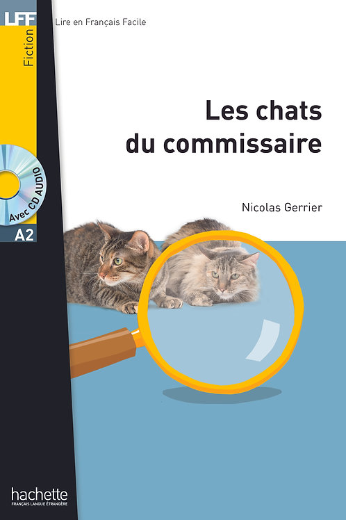 LES CHATS DU COMMISSAIRE+CD AUDIO MP3 (GERRIER)