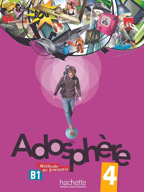 ADOSPHERE-4/LIVRE DE L'ELEVE + CD AUDIO