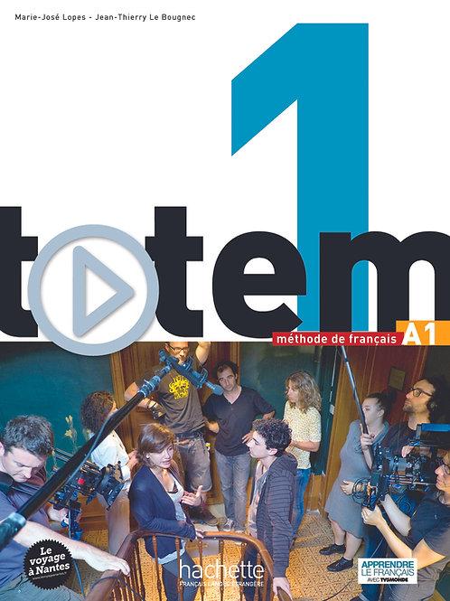 TOTEM-1/LIVRE DE L'ELEVE+DVD-ROM