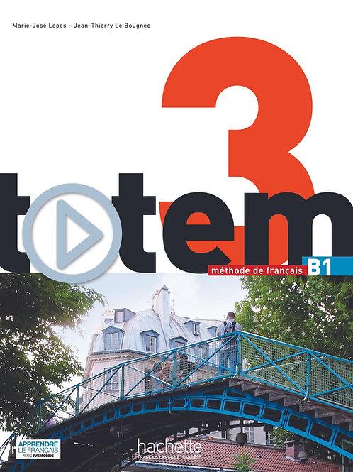 TOTEM-3/LIVRE DE L'ELEVE+DVD-ROM