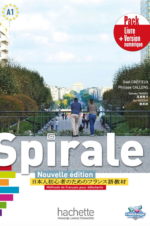 SPIRALE NE/PACK LIVRE DE L'ELEVE+VERSION NUMERIQUE