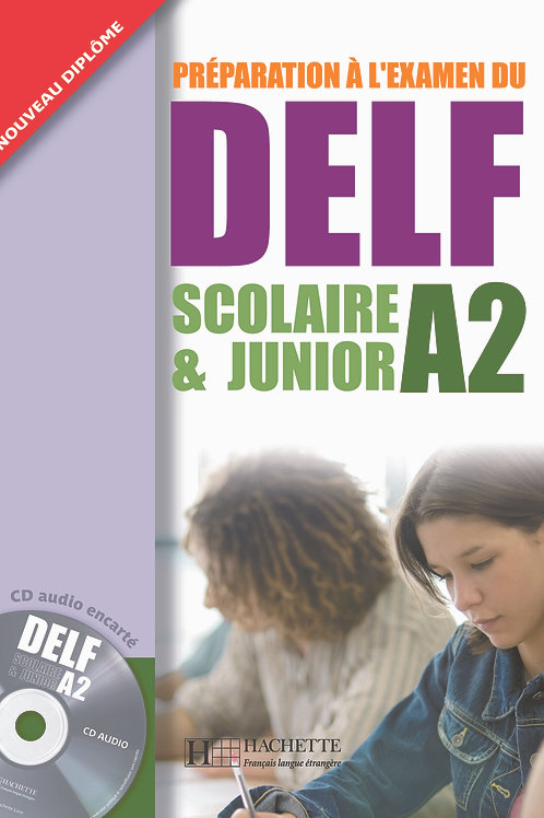 DELF SCOLAIRE&JUNIOR-A2(LIVRE+CD)