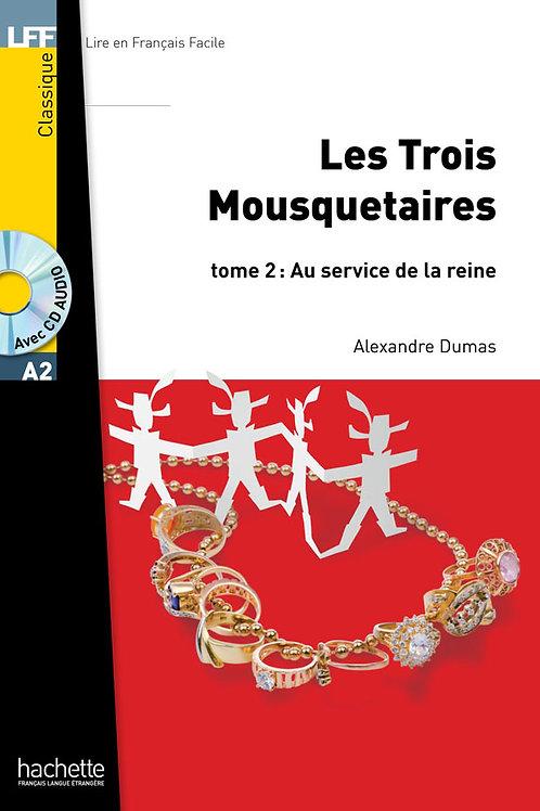LES TROIS MOUSQUETAIRES-2(+CD MP3)
