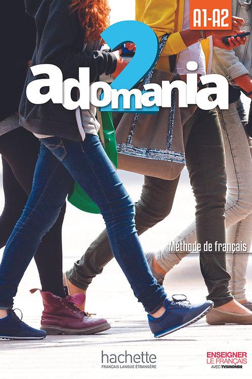 ADOMANIA-2/LIVRE DE L'ELEVE+DVD-ROM