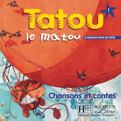 TATOU LE MATOU-1/CD AUDIO ELEVE