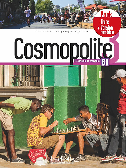 COSMOPOLITE-3/PACK LIVRE+VERSION NUMERIQUE