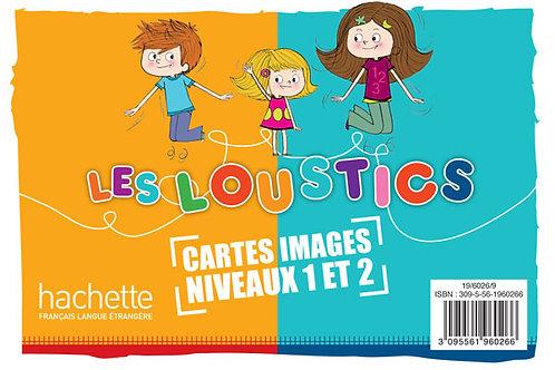 LES LOUSTICS-1 ET 2/CARTES IMAGES EN COULEURS (X200)