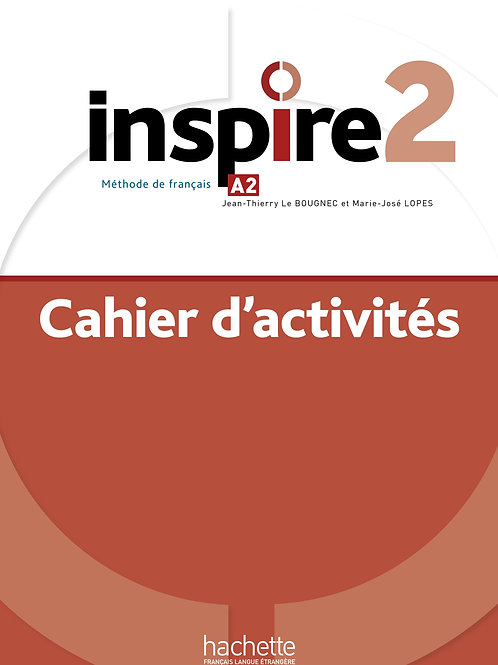 INSPIRE-2/CAHIER D'ACTIVITES + AUDIO MP3