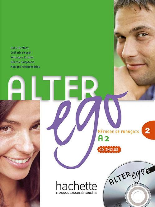 ALTER EGO-2/LIVRE DE L'ELEVE + CD AUDIO