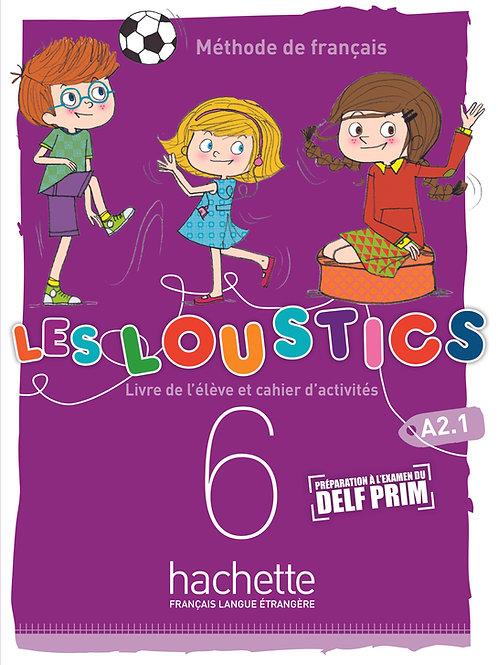 LES LOUSTICS 6N-6/LIVRES DE L'ELEVE+CAHIER D'ACTIVITES+CD AUDIO