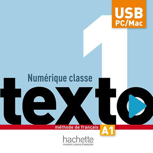 TEXTO-1/MANUEL NUMERIQUE CLASSE BIBLIO HFLE (CARTE)