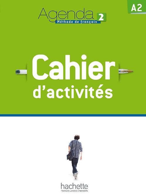 AGENDA-2/CAHIER D'ACTIVITES + CD AUDIO