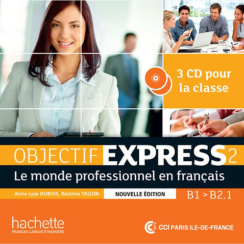 OBJECTIF EXPRESS-2 NE/CD AUDIO CLASSE