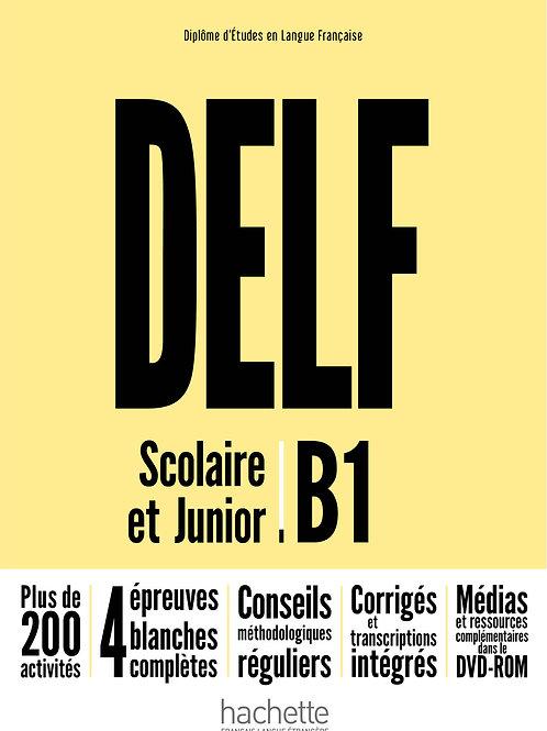 DELF SCOLAIRE&JUNIOR B1+DVD ROM NE